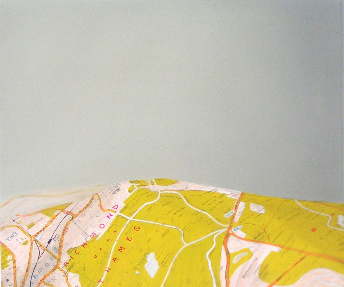 Emma J Williams 'Marylebone flyover' 2002 oil on board